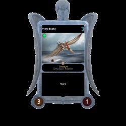 Pterodactyl - Glitch Angel Frame