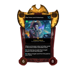 The Time Lord Victorious - Time Lord Victorious Frame