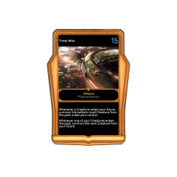 Time War - Bronze Frame