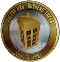 Doctor Who: Worlds Apart Founders Token